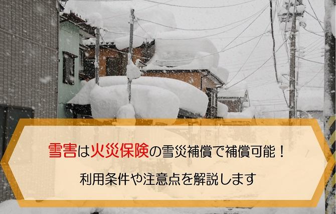 火災保険 雪害